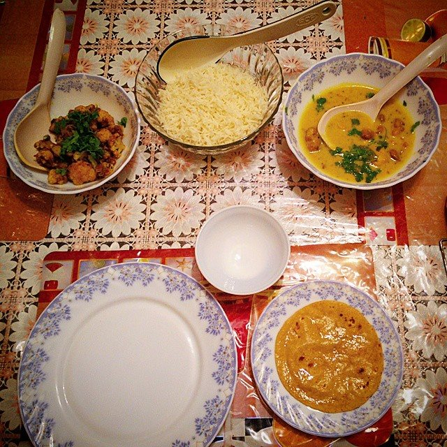 KP Rajputan Guest House  home cooked meal