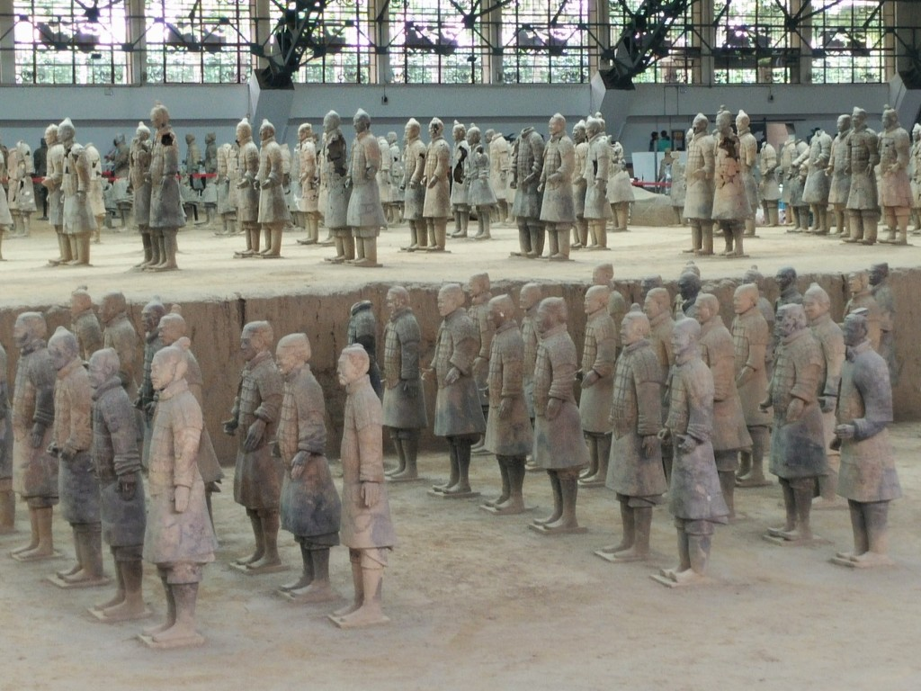 Terracotta Soldiers rebuilt and ready to go