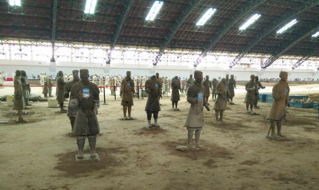Terracotta Warriors restoration