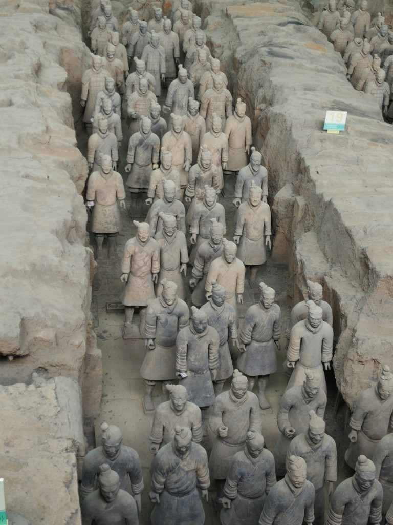 Terracotta Warriors Columns Pit #1