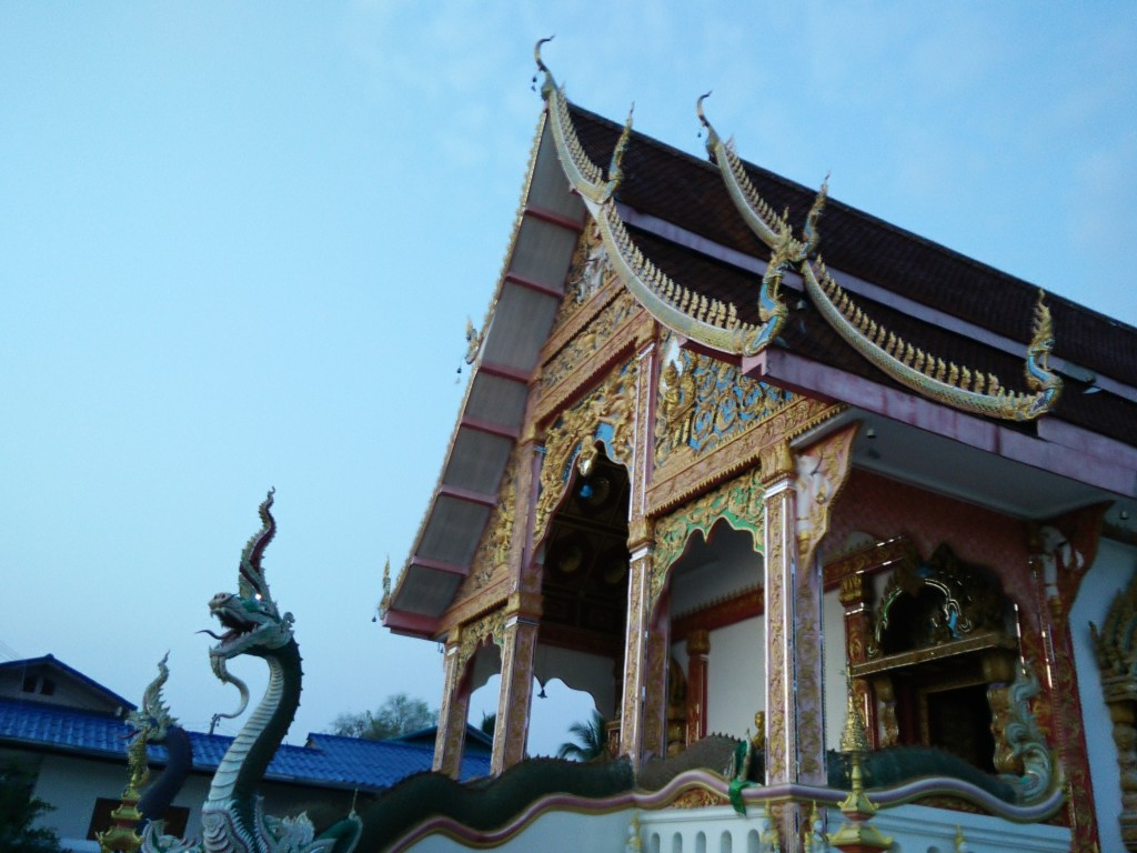 The village's only temple or wat.